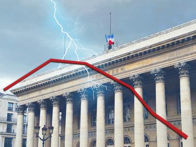 Bourse : Vent de panique sur les valeurs bancaires, le CAC40 dévisse de près de 3%