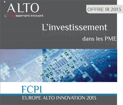 Europe Alto Innovation 2013