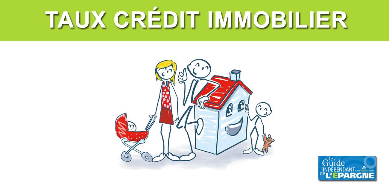 Taux crédit immobilier : emprunter à quel taux sur Octobre 2020 ?