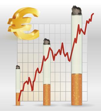 Tabac : 20 cents de plus pour un paquet de cigarettes
