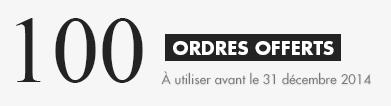 Fortuneo : 100 ordres offerts pour votre rentrée boursière !