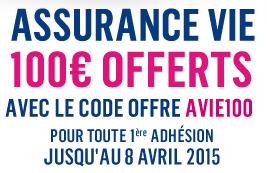 Assurance-Vie : 100€ offerts pour 300€ versés chez Boursorama banque !
