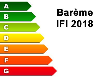 Barème IFI 2018