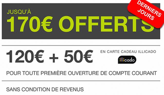Jusqu'à 170€ offerts chez Monabanq, avec un livret épargne à 3%, derniers jours !
