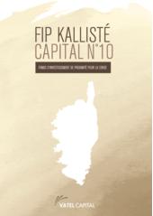 KALLISTÉ CAPITAL 10