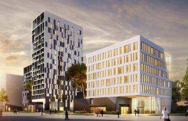Premier immeuble de bureaux en structure bois à Nantes : la commercialisation débutera en novembre 2018
