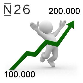 N26 : déjà 200.000 clients de la banque mobile en France, en seulement 1 an !