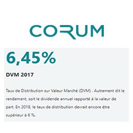 SCPI CORUM : nouvelles acquisitions au Portugal, en Espagne et aux Pays-Bas
