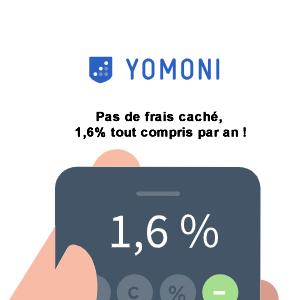 Yomoni : nouvelle offre de bienvenue, jusqu'à 200€ offerts à saisir avant début décembre