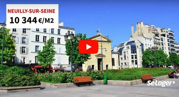 Immobilier : la ville la plus chère de France reste Neuilly-sur-Seine, 10.344€ le mètre carré en moyenne