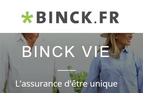 Binck Vie : jusqu'à 150€ offerts, nouveau contrat d'assurance-vie, 0% de frais, 100% nouvelle génération