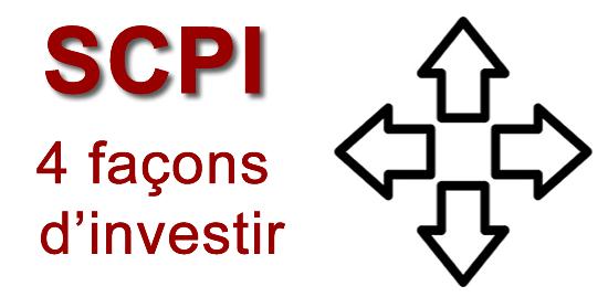 4 façons d'investir dans les SCPI