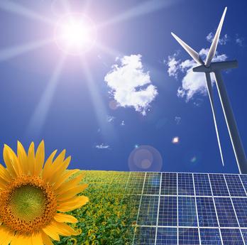 Objectif de production d'électricité en énergies renouvelables : x5 fois plus de solaire et x3 fois d'éolien en 10 ans