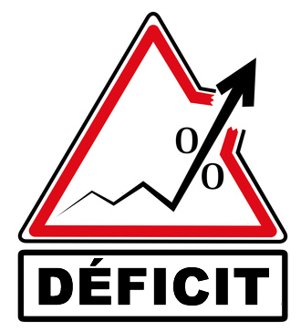 Hausse anticipée du déficit de la France pour 2019 : environ +3.20% du PIB
