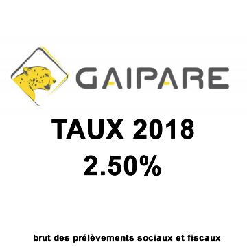 Assurance-Vie Taux fonds euros 2018 Gaipare-Allianz : 2.50%, une performance appréciée de haut de tableau