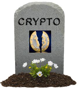 Cryptomonnaies : le cimetière se remplit inéluctablement, jour après jour, déjà 934 cryptodevises abandonnées #Bitcoin