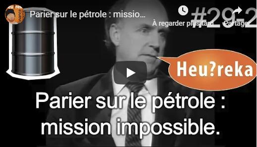 Investir sur le pétrole : mission impossible ?