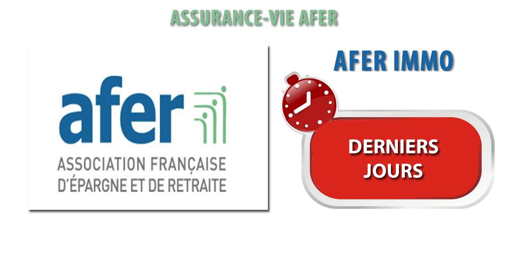 Assurance-vie AFER mars 2019 : enveloppe de souscription sur la SCI Afer Immo, derniers jours