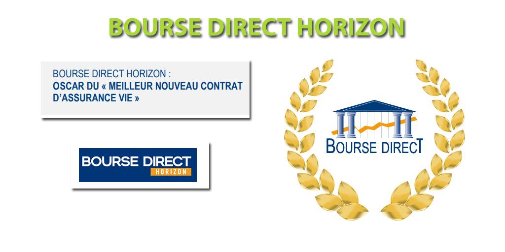 Assurance-vie Bourse Direct Horizon : meilleur nouveau contrat 2019 du marché selon le magazine Gestion de Fortune