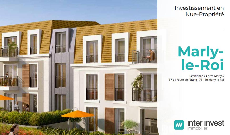 Investir en nue-propriété dans le Grand Paris, des offres de charme à Marly-le-Roi