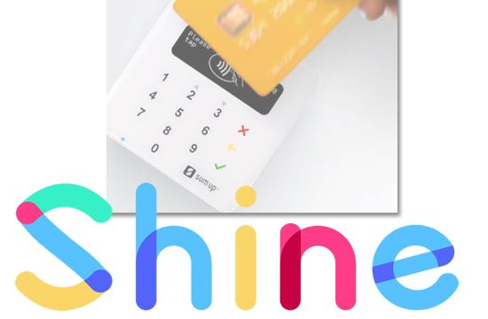 Néobanque : Shine brille pour séduire les travailleurs indépendants, terminaux de paiements SumUp à la clé