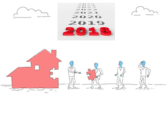 Crowdfunding immobilier : une collecte 2018 record, à 185 millions d'euros, en hausse de +83%