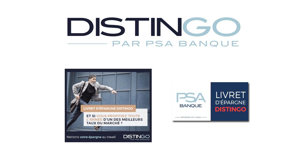 Livret épargne DISTINGO de PSA Banque : baisse du taux de base à 0.80% au 1er juillet 2019