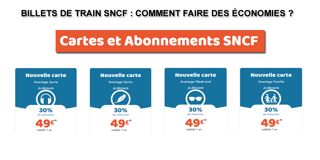 Billets de train : comment faire des économies avec les nouvelles cartes de réductions de la SNCF ?
