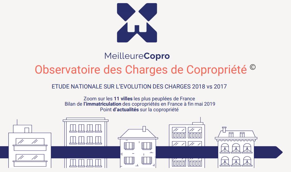 Immobilier / charges de copropriétés : hausse moyenne annuelle de +3.10% en 2018