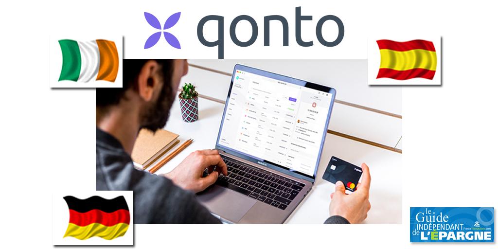 Qonto s'internationalise en Italie, Espagne et Allemagne, un marché de 11 millions de PME à séduire