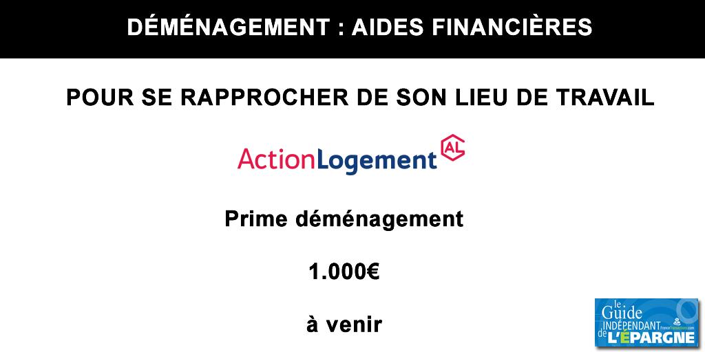 Logement : bénéficiez prochainement de 1.000€ de prime pour votre déménagement, sous conditions