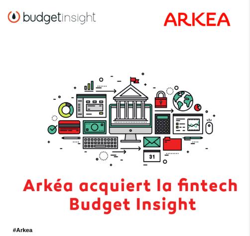 Open banking : Budget Insight passe sous le giron de Crédit Mutuel Arkéa #FinTech