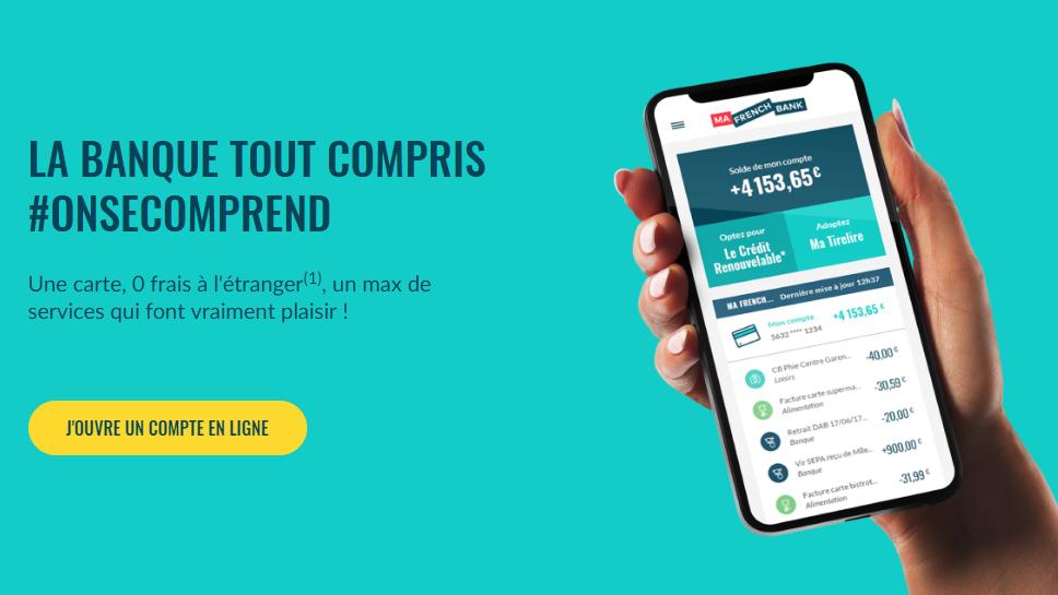 Ma French Bank / Néobanque : la banque 100% mobile de la Banque Postale est officiellement lancée