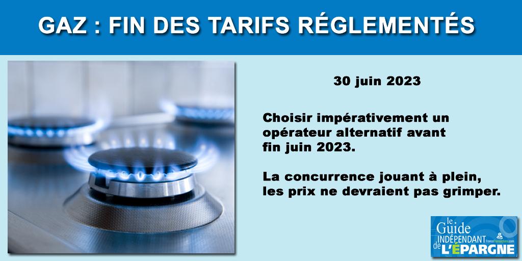 Gaz : fin des tarifs réglementés en 2023, les impacts pour les consommateurs ?
