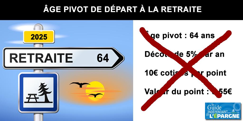 Réforme des retraites : adieu l'âge pivot de 64 ans, la durée de cotisation fait son grand retour