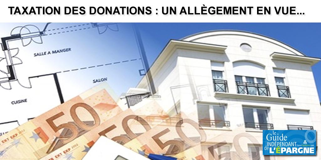Allègement de la fiscalité sur les donations, mais par sur les successions : ne rêvez donc pas trop vite...