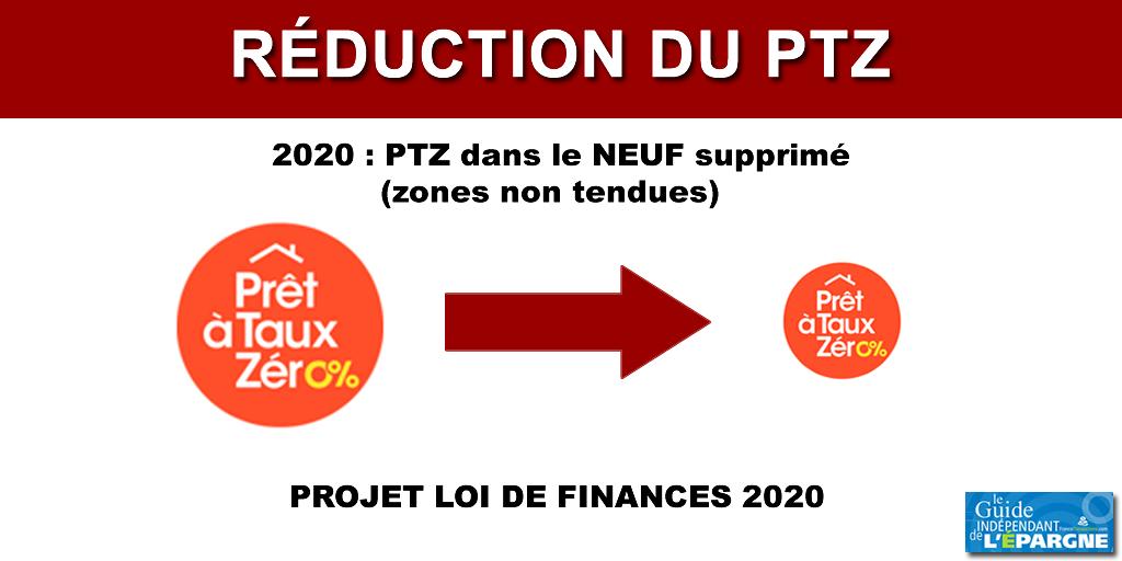 Suppression du Prêt à taux zéro (PTZ) dans le neuf (zones non tendues) en 2020, la grogne est totale