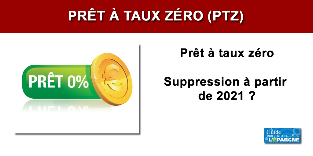 Suppression totale du Prêt à Taux Zéro en 2021 : un nouveau rapport à charge