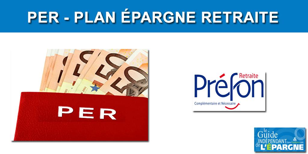 Préfon retraite devient un PER individuel à partir du 1er décembre 2019