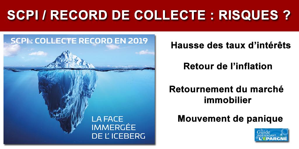 SCPI : nouveau record de collecte en 2019, le signe d'une crise à venir ?