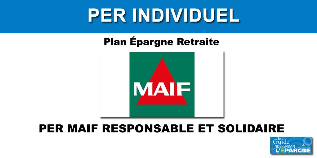 PER MAIF Responsable et Solidaire