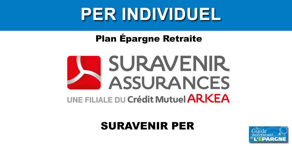 SURAVENIR PER: 300 euros offerts pour 2.500 euros versés (offre soumise à conditions).