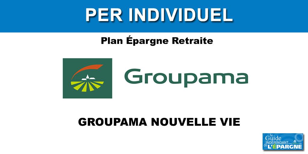 Épargne retraite, PER Groupama Nouvelle Vie : jusqu'à 200€ offerts, sous conditions, à saisir avant le 31 décembre 2020