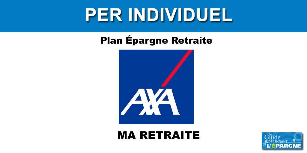 AXA MA RETRAITE PER