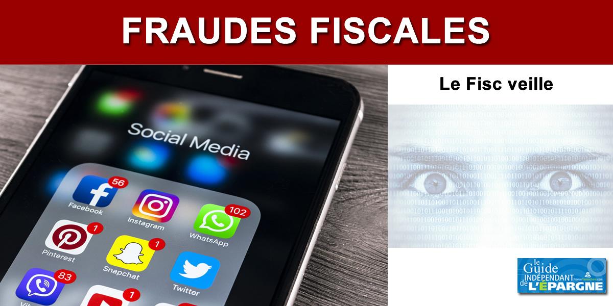 Impôts : vos informations publiées sur les sites publics et les réseaux sociaux désormais exploitables par le Fisc