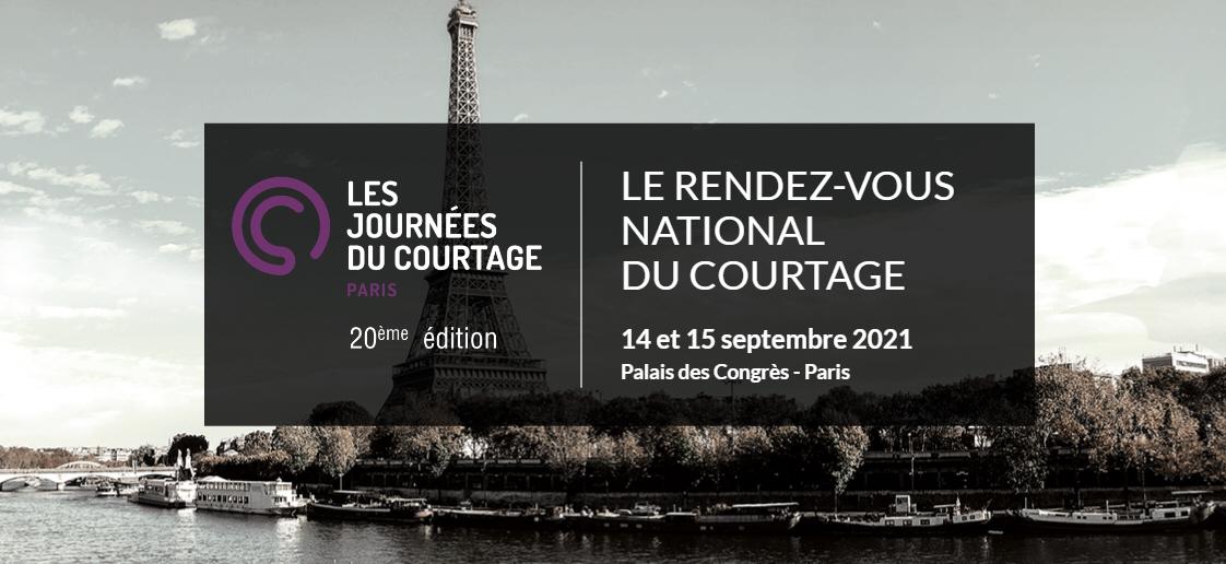 Salon professionnel des courtiers : Les Journées du Courtage à Paris auront lieu les 14 et 15 septembre 2021