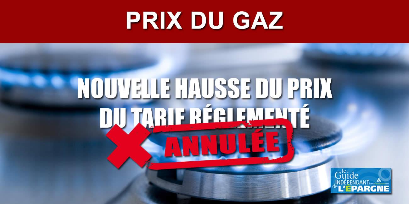 📌 Le prix du Gaz n'augmentera pas de novembre 2021 à avril 2022