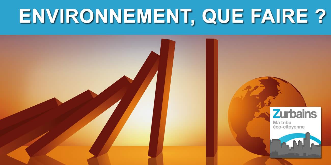 Forum environnement : que faire pour demain ? L'économie verte est-elle une arnaque ?