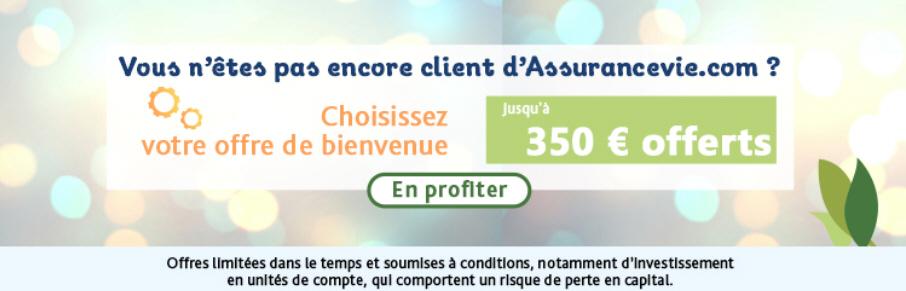 350€ offerts aux nouveaux clients! (sous conditions)