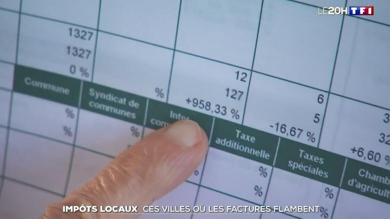 Copie écran TV TF1 20 heures
